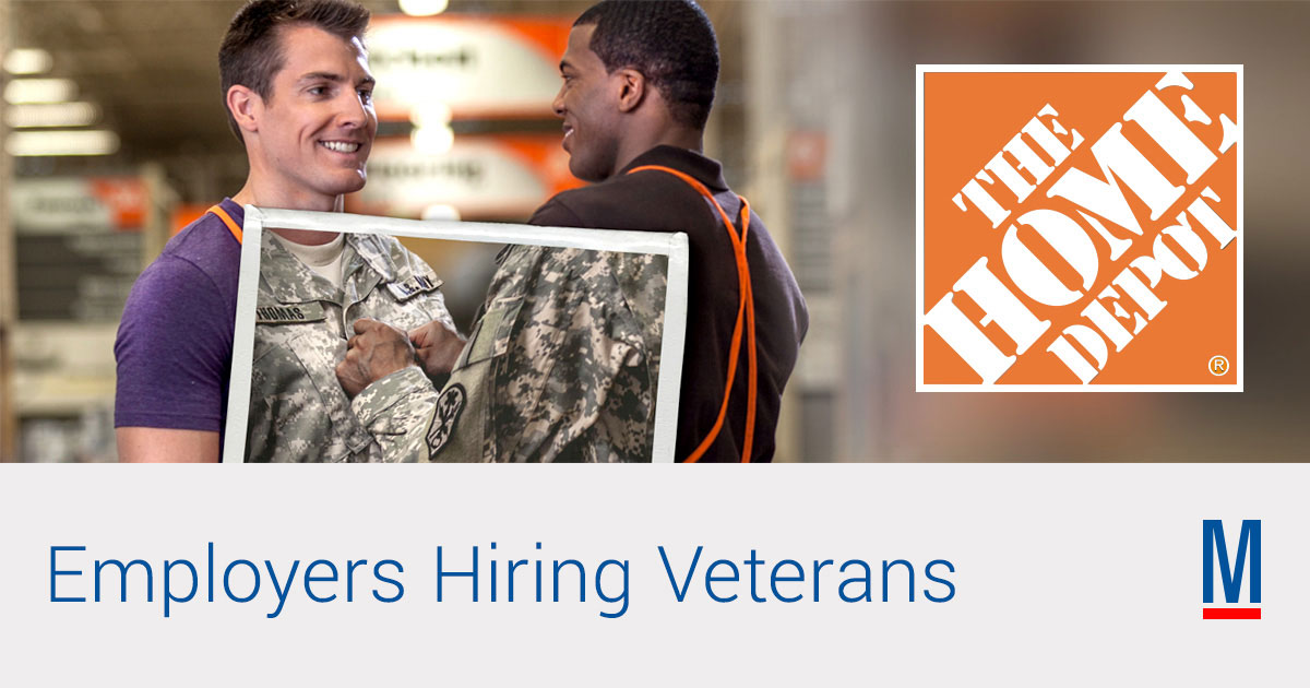 Home Depot Jobs & Careers for Veterans