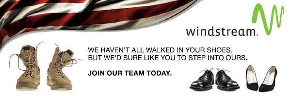 Windstream - We haven't all walked in your shoes. But we'd sure like you to step into ours. Join our team today.