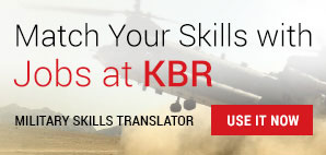 Match Your Skills with Jobs at KBR - Military Skills Translator - Use It Now.