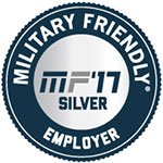 Military Friendly Silver Employer 2017