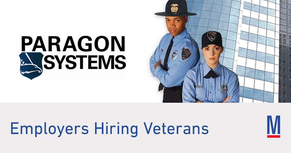 Paragon Systems Jobs & Careers for Veterans | Military.com