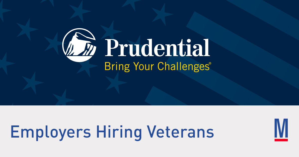Prudential Jobs For Veterans Military Com
