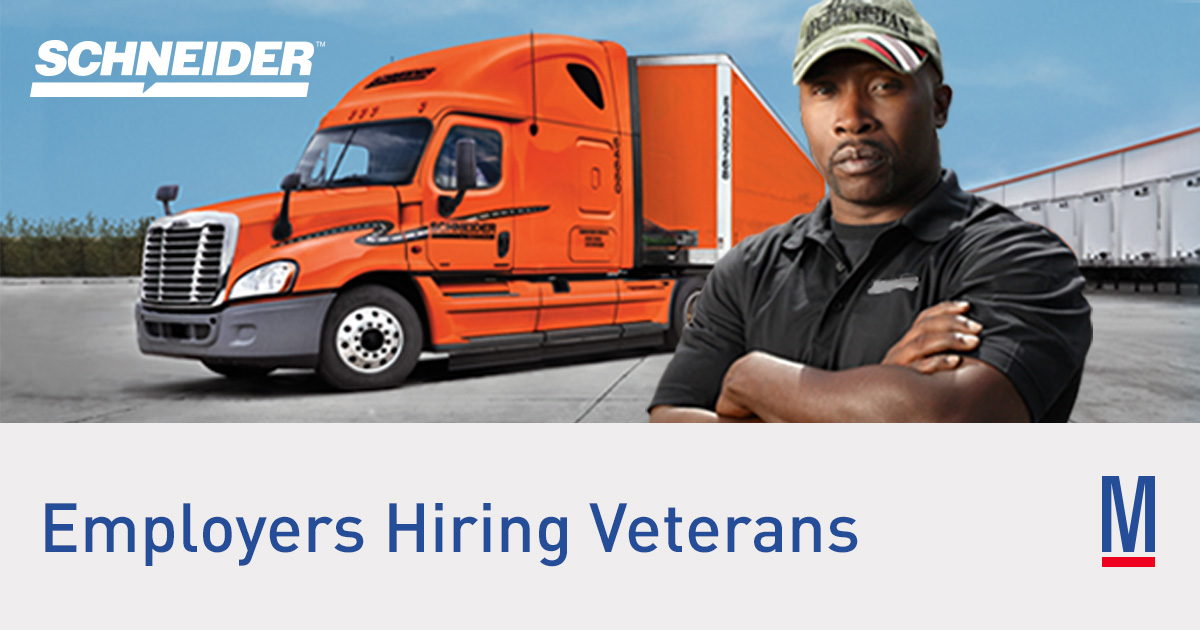 Schneider - Jobs for Veterans   Military.com
