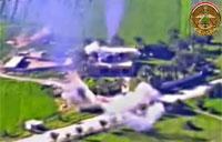 Iraqi Army Aviation Strikes Daash Compound
