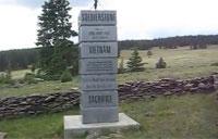 'Mysterious' Vietnam War Memorial