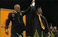 Soldier Surprises Son at Graduation