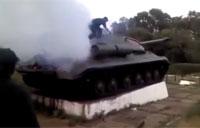 Ukrainians Hotwire WWII Tank