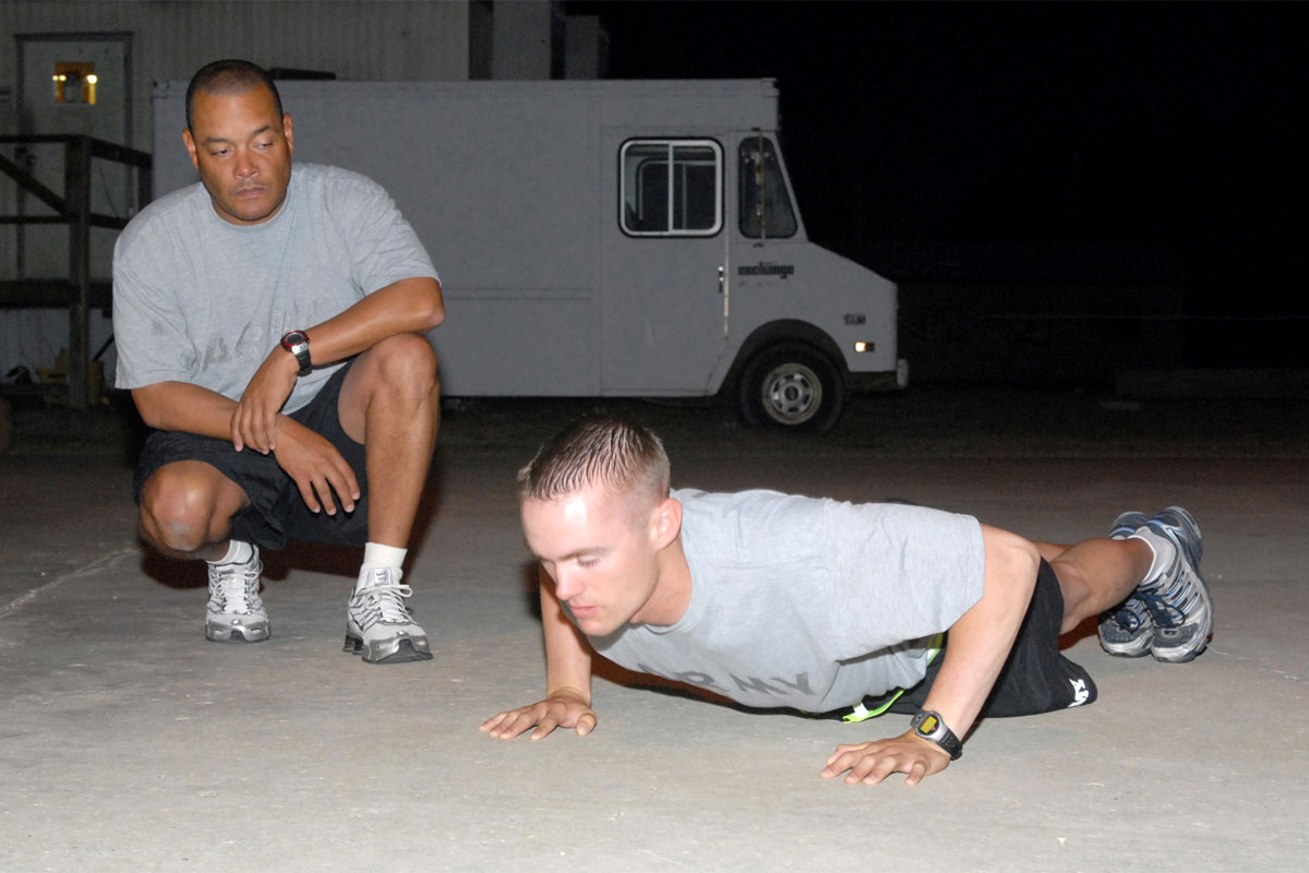 how to improve sit ups on apft