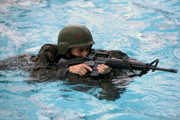 The Combat Swim