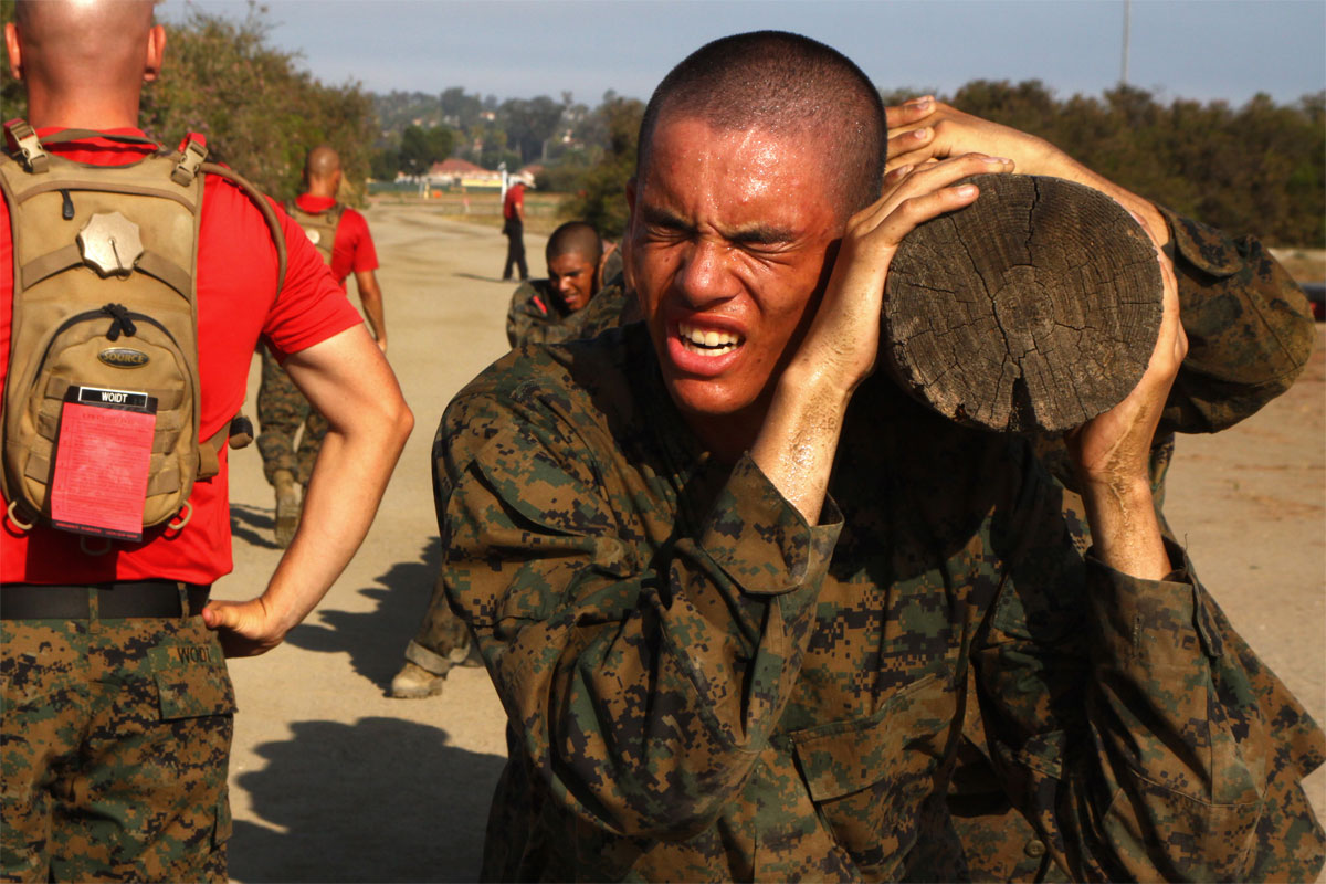 US Marine Corps Recruit Training