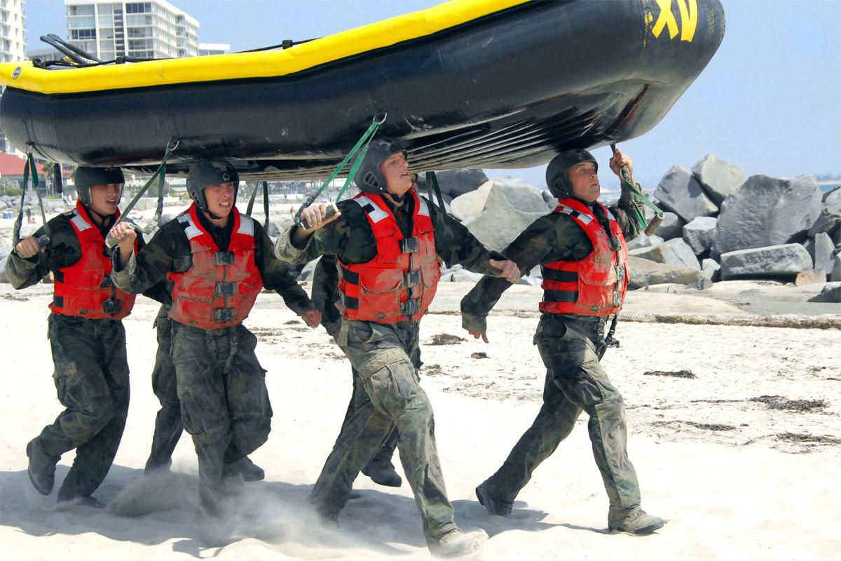 The Navy SEAL Grinder PT