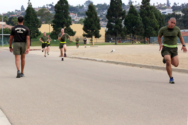 Marine run