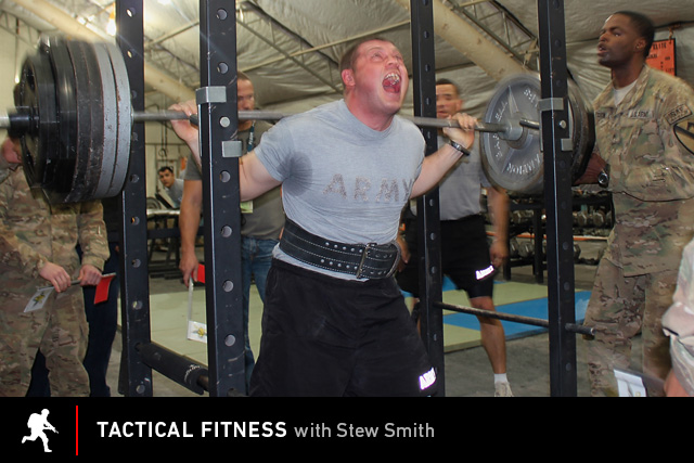 Tactical Fitness: powerlifting in the Army.