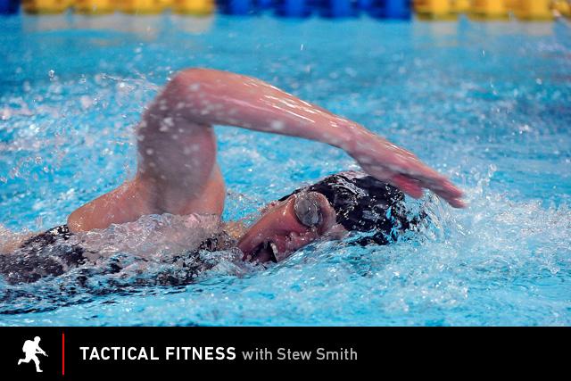 Swimming practice.