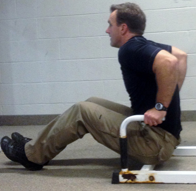 Stew Smith bench dips