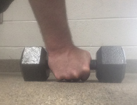 Stew Smith: Dumbbell pushup