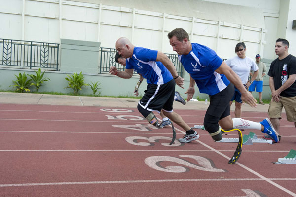 Wounded Warrior Track and Field
