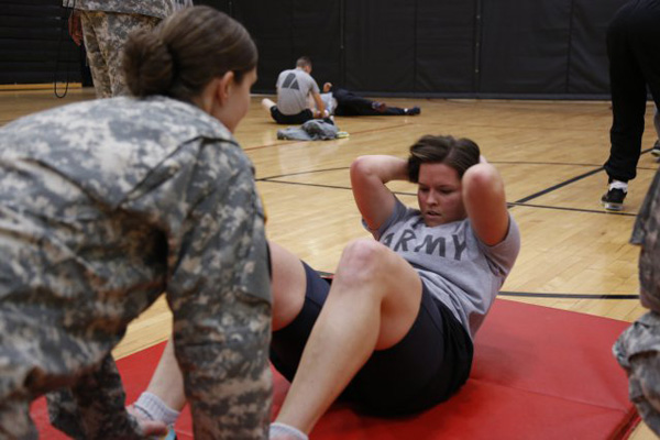 Army Situp PT