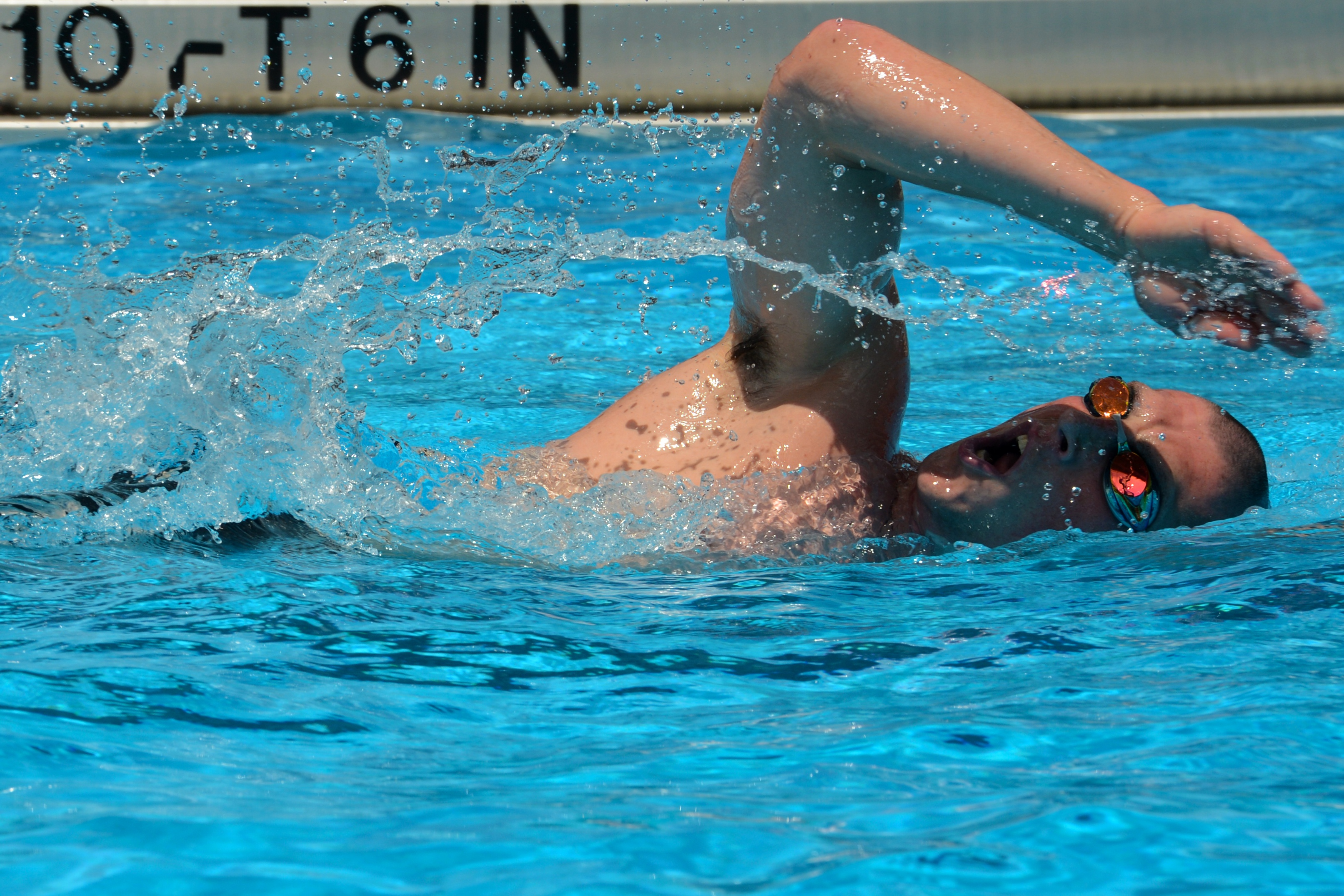 Side Stroke Combat Swimming