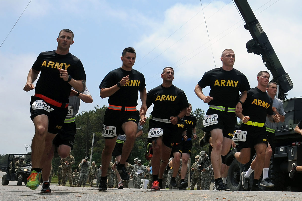 Army apft regulation tc - Army Runners