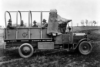 The Early Days Of Motorized Military Vehicles Military Com