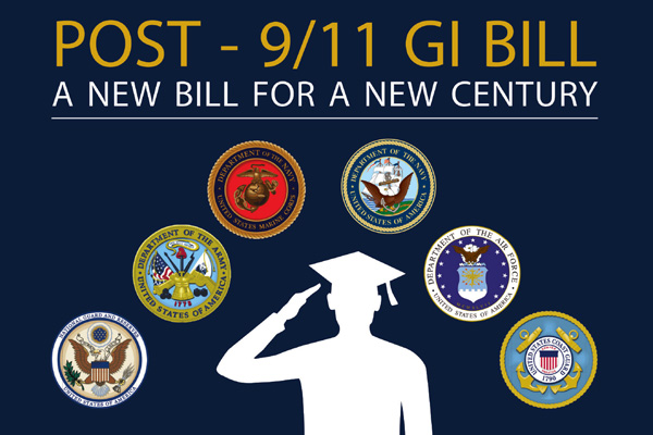 Post 9/11 GI Bill banner.
