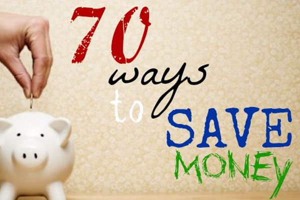70 ways to save money