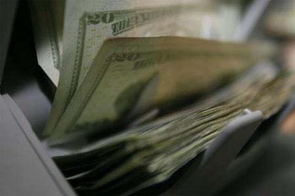 machine counting money