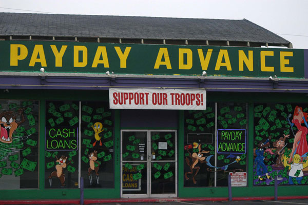 Congress is again working to crack down on payday lenders who target servicemembers with high interest rates. Marine Corps photo
