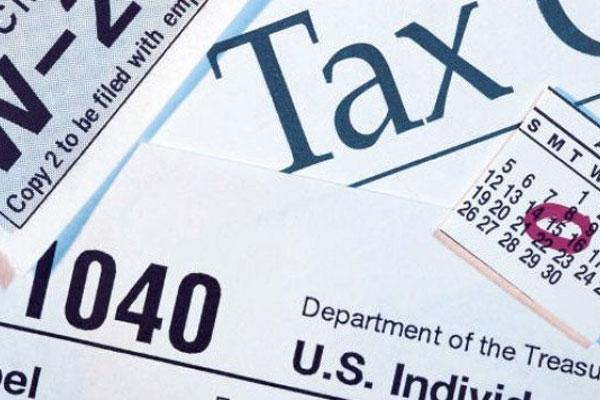 tax forms 600x400