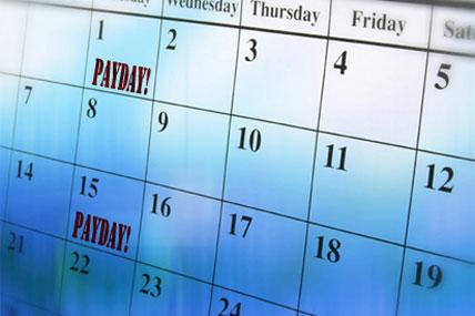 payday calendar 428x285