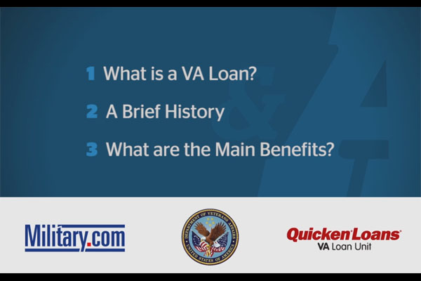 what is a va loan title card