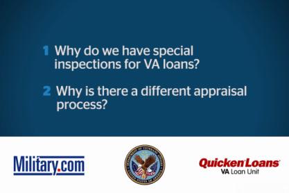 VA Loan QA: Inspection and Appraisal