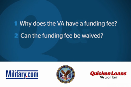 VA Loan QA: VA Funding Fee