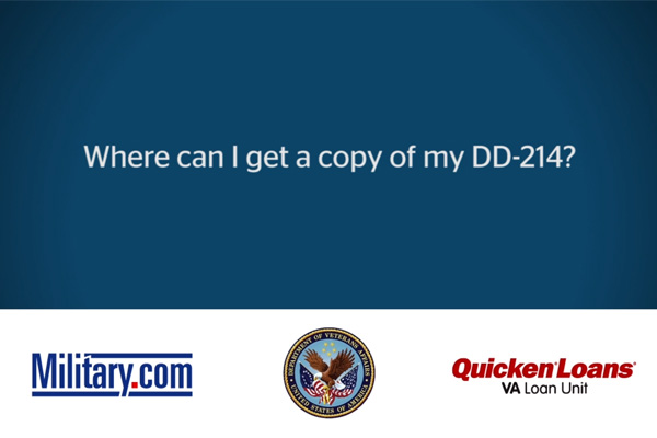 VA Loan Q&A: How to Get a DD-214