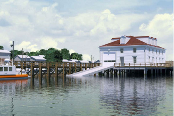 Coast Guard boathouse 600x400