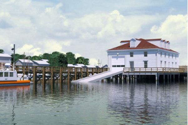 Coast Guard boathouse 600x400