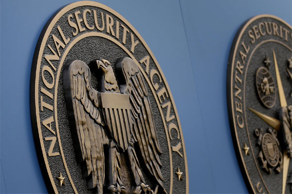A sign stands outside the National Security Administration (NSA) campus in Fort Meade, Md. (Patrick Semansky/AP)