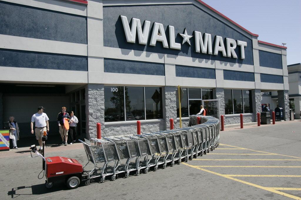Walmart building (AP file photo)