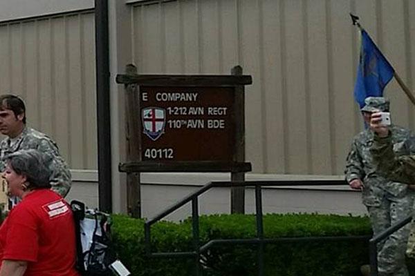 Echo Company, 1st Battalion, 212th Aviation Regiment at Fort Rucker.