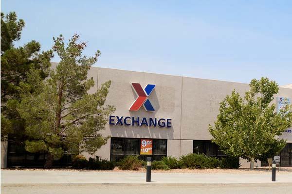 Edwards AFB Exchange. (U.S. Air Force Photo)