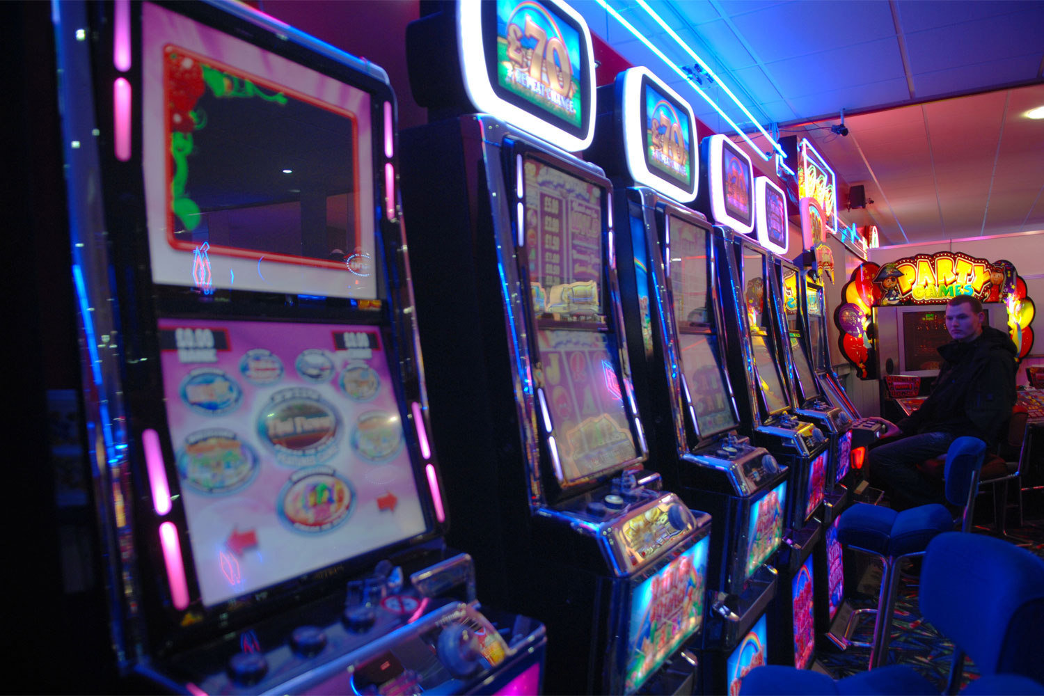 Gambling security clearance