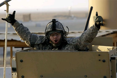 last soldier leaves iraq