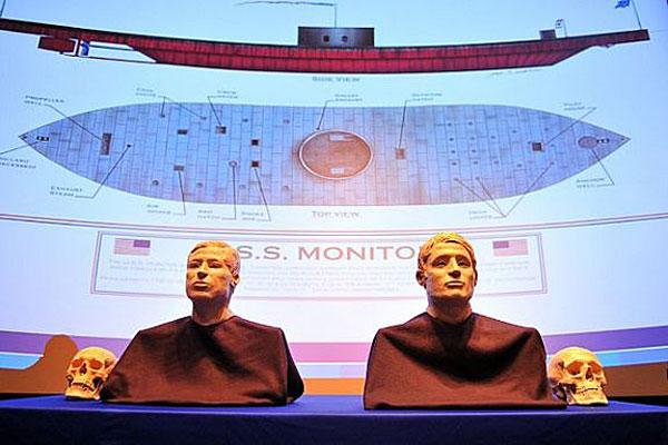 USS Monitor exhibit