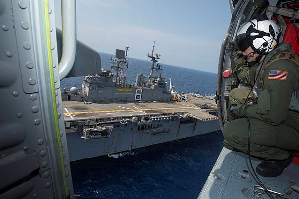 Bonhomme Richard Amphibious Ready Group prepares to participate in Operation Ssang Yong. (Source: U.S. Navy photo)