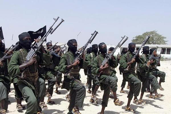 Al-Shabab soldiers