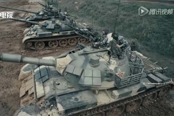 A screen grab from the PLA's recently released promotional video. (PLA via YouTube.)