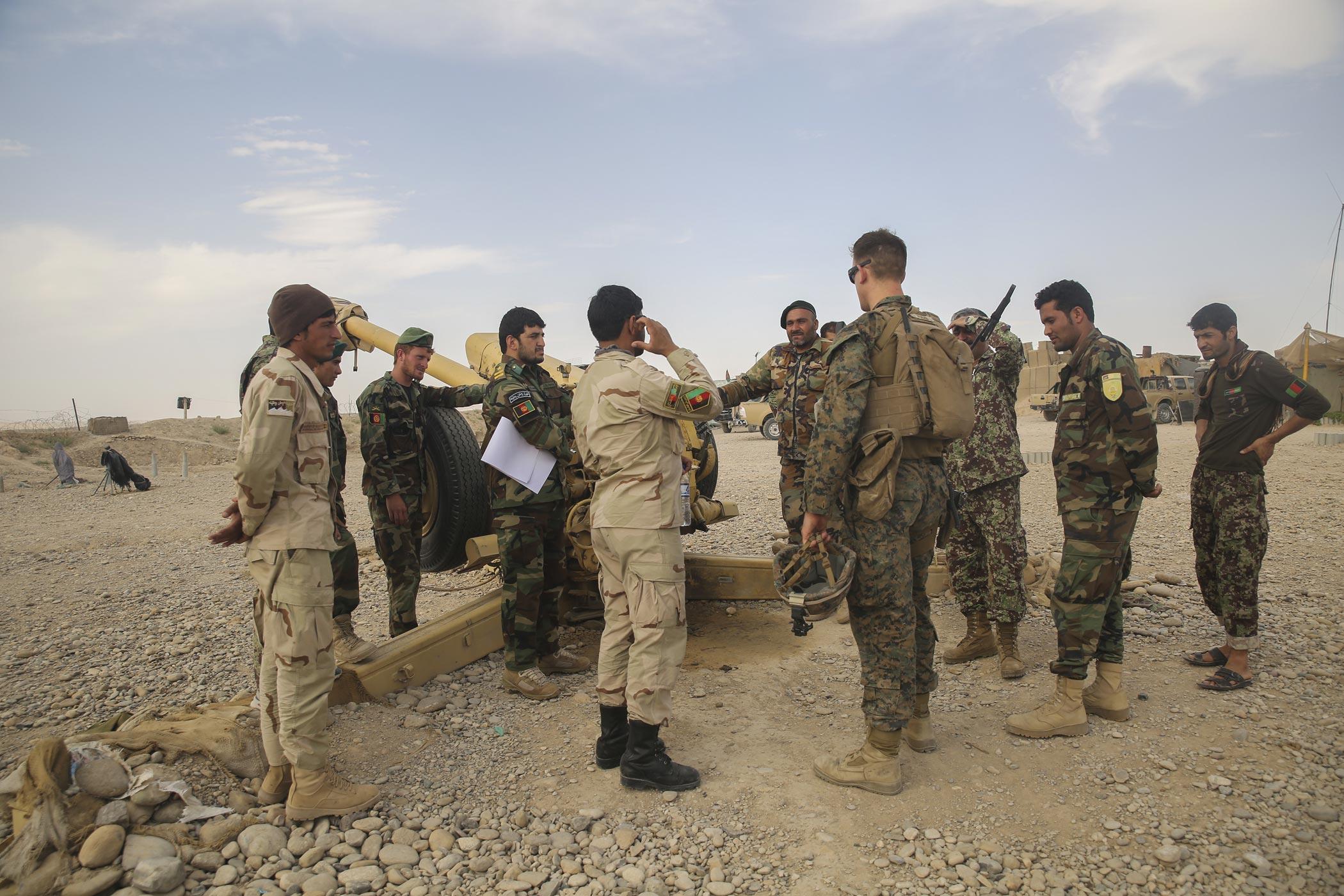 Marines in Afghanistan Return to Sangin, Site of Bloodiest ...