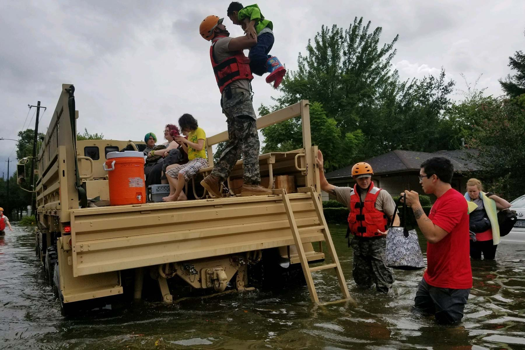 Texas Activates Entire State National Guard For Harvey Aftermath