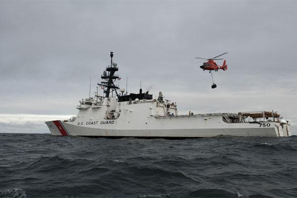 Coast Guard Cutter Bertholf 600x400